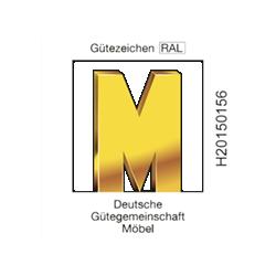 Goldenes M Logo